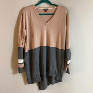 VINE CAMUTO ASYMMETRICAL SWEATER
